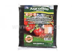 AgroBio tkaná textilie 100g 1,6x10 m černá