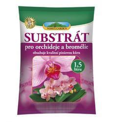 NOHELGARDEN Substrát pro orchideje a bromélie 1,5 l