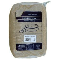 Křemenný písek do bazén. filtrací 0,5-1,2 mm 25 kg