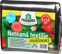 Neotex ROSTETO - černá netkaná textilie 50g šíře 5 x 1,6 m