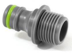 Adapter na kohoutek 1/2 STALCO GARDEN vnější závit plastový