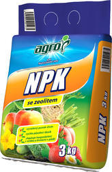 AGRO NPK 3 kg + ZDARMA KRISTALON pro pokojové rostliny