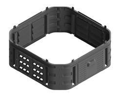 Kompostér nástavný modul 230l černý