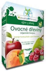 AgroBio KOUZLO PŘÍRODY Ovocné dřeviny organické hnojivo 1 kg