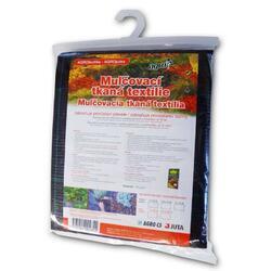 AGRO 1,6 x 10 m Mulčovací tkaná textilie černá