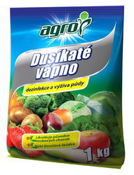 AGRO Dusíkaté vápno 1 kg + ZDARMA KRISTALON pro pokojové rostliny