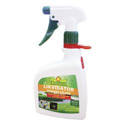 FLORIA Likvidátor veškeré zeleně 1 l + ZDARMA KRISTALON pro pokojové rostliny - doprodej