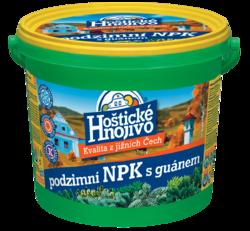 FORESTINA podzimní Hoštické NPK s guánem - kbelík 4,5 kg