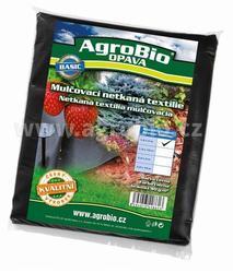 AgroBio netkaná textilie 40g/m2 1,6x5 m černá