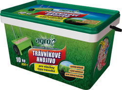 AGRO Trávníkové hnojivo plast. kbelík 10 kg