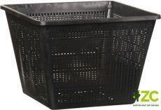 košík na vodní rostliny -hranatý 28x28x18 cm