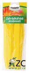 ROSTETO Jmenovka zápich L6 žlutá 15ks, 15 cm