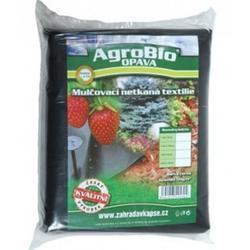 AgroBio netkaná textilie 40g/m2 1,6x10 m černá