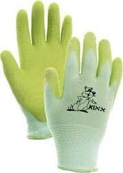 Dětské rukavice FUDGE -zelené/liška vel 5.