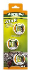 AgroBio ATAK Nástraha na mravence AMP 3 ks