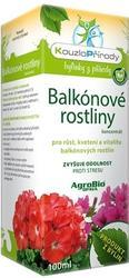AgroBio KOUZLO PŘÍRODY Balkónové rostliny koncentrát 100 ml
