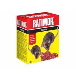 RATIMOR Plus - granule 150 g-krabička