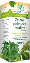 AgroBio KOUZLO PŘÍRODY Zelené pokojové rostliny koncentrát 100 ml