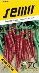 Chilli semínka KARKULKA třešňová 0,6g silně pálivá