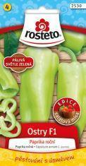 ROSTETO Chilli semínka OSTRY F1 10ks pálivá sv.zelená