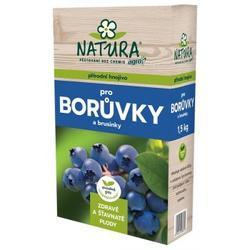 AGRO NATURA Přírodní hnojivo pro borůvky a brusinky 1,5kg