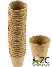 Rašelinové květináče 6 cm - 24 ks
