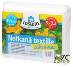 Neotex ROSTETO - bílá netkaná textilie 19g šíře 5 x 3,2 m