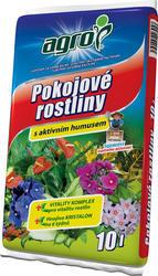 AGRO Substrát pro pokojové rostliny 10 l + ZDARMA KRISTALON pro pokojové rostliny