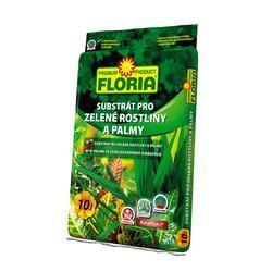 FLORIA Substrát pro zelené rostliny a palmy 10 l
