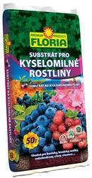 FLORIA Substrát pro kyselomilné rostliny 50l  + ZDARMA KRISTALON pro pokojové rostliny