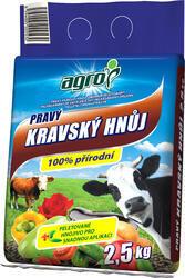 AGRO Pravý kravský hnůj 2,5 kg