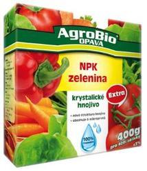 AgroBio Krystalické hnojivo Extra NPK Zelenina 400 g