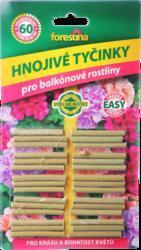 Hnojivo FORESTINA tyčinkové na balkónové rostliny 30ks