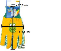 Dětské rukavice Stocker beruška - 2